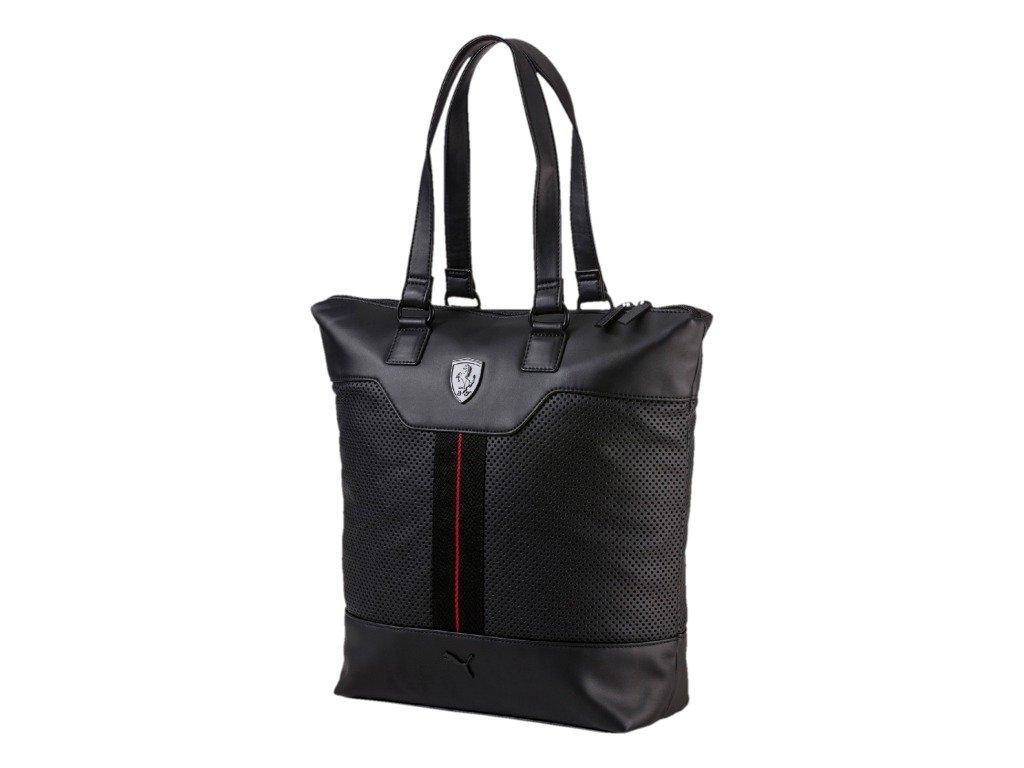 92fb453dd0b9f Puma Ferrari LS Shopper Black Women s handbags - 074512-01