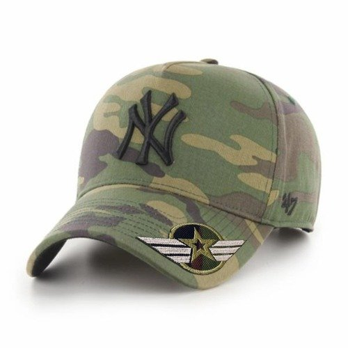 47 Brand MLB New York Yankees Snapback Custom Army - B-GRVSP17CNP-CM