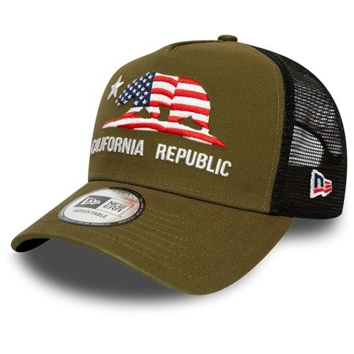 New Era California Republic Trucker Cap - 12134768