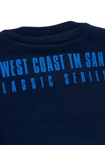 Pit Bull West Coast Hooded seascape Mikina s kapucí