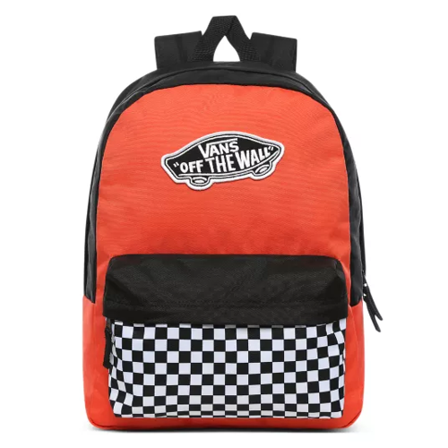 Vans Realm Paprika-Checkerboard Batoh - VN0A3UI6ZKF + Pencil Pouch