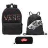 VANS Realm Batoh - VN0A3UI8YGL 004 + Pencil Pouch + Benched Bag