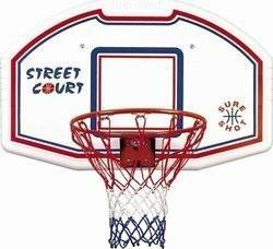 Sure Shot Bronx 507 Basketballboard/Stalen ring