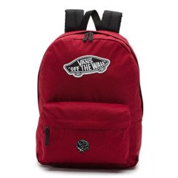 Vans Realm Biking Red Backpack - VN0A3UI61OA - Silver Rose