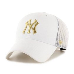 47 Brand MLB New York Yankees trucker Cap - B-BRMTL17CTP-WH