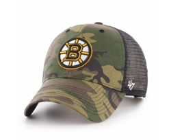 47 Brand NHL Boston Bruins Trucker Cap - H-CBRAN01GWP-CM