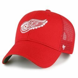 47 Brand NHL Detroit Red Wings Trucker Cap - H-BRANS05CTP-RDD