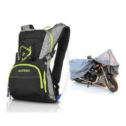ACERBIS Backpack H2O CAMELBAG - 0017046.318 + Motorcycle Cover