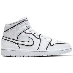 Air Jordan 1 Mid SE Iridescent Reflective Shoes - CK6587-100