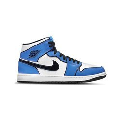 Air Jordan 1 Mid Signal Blue SE Shoes - DD6834-402