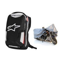 Alpinestars City Hunter Backpack - 6107717-123 + Motorcycle Cover