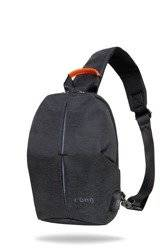 Anti-theft r-bag Photon Black Backpack - Z101