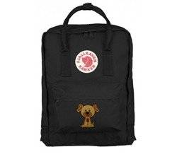 Backpack Fjallraven Kanken Black CLASSIC 16 L Custom Puppie