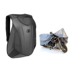 Backpack Ogio No Drag Mach 3 - 123007-36 + Motorcycle Cover