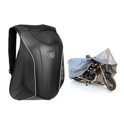 Backpack Ogio No Drag Mach 5 Motorcycle Backpack - 123006-36 + Motorcycle Cover