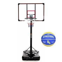 Basketball set DELUX 305 cm  + Spalding NBA Team Golden State Warriors