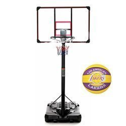 Basketball set DELUX 305 cm + Spalding NBA Team Los Angeles Lakers