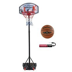 Basketball set Hudora All Stars + Spalding NBA Platinum + Jordan Pump