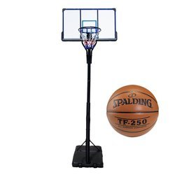 Basketball set TOP 305 cm + Spadling Basketball TF-250