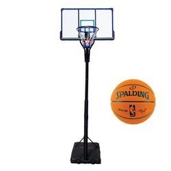 Basketball set TOP 305 cm + Spadling NBA Game Ball Series replic