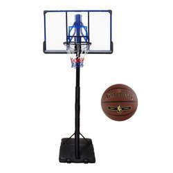 Basketball set TOP 305 cm + Spalding NBA Tack Soft Gold