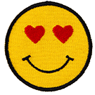 Emoticon Thermal Patch face