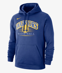Golden State Warriors Nike Men's NBA Hoodie - BV0925-495