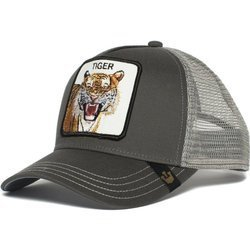 Goorin Bros. Eye Of The Tiger Trucker Grey Cap - 101-0335