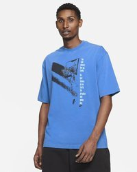 Jordan Flight Graphic Men's T-Shirt Blue - CV5108-403