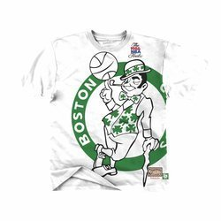 Mitchell & Ness Big Face NBA Boston Celtics Tee