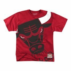Mitchell & Ness Big Face NBA Chicago Bulls Tee