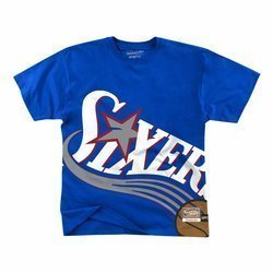 Mitchell & Ness Big Face NBA Philadelphia 76ers Tee