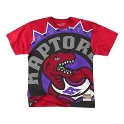 Mitchell & Ness Big Face NBA Toronto Raptors Tee