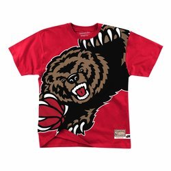 Mitchell & Ness Big Face NBA Vancouver Grizzlies Tee