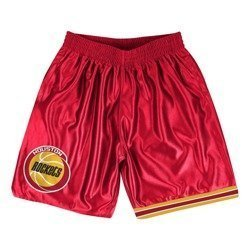 Mitchell & Ness Houston Rockets NBA Dazzle Shorts - SHORDF18016-HROSCAR1