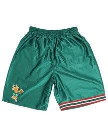 Mitchell & Ness Milwaukee Bucks NBA Dazzle Short - SHORDF18016-MBUGREN1