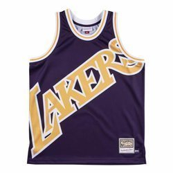 Mitchell & Ness NBA Big Face Jersey Los Angeles Lakers