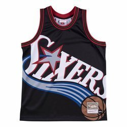 Mitchell & Ness NBA Big Face Jersey Philadelphia 76ers