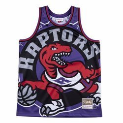 Mitchell & Ness NBA Big Face Jersey Toronto Raptors