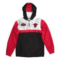 Mitchell & Ness NBA Chicago Bulls Margin Of Victory Windbreaker