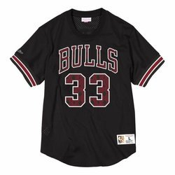 Mitchell & Ness NBA Chicago Bulls Scottie Pippen Name & Number Crewneck