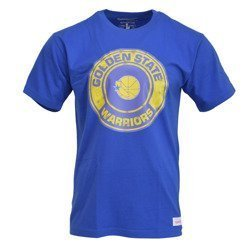 Mitchell & Ness NBA Golden State Warriors Tonal Floral T-Shirt