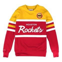 Mitchell & Ness NBA Houston Rockets Head Coach Crewneck