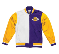 Mitchell & Ness NBA Los Angeles Lakers Team History Warm Up Jacket