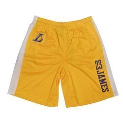 NBA Los Angeles Lakers Lebron James Jumpshot Short - EK2M1BBSW-LAKJL