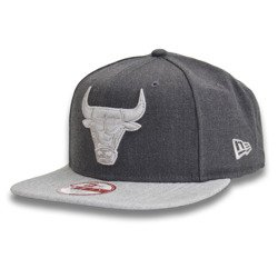 New Era 9FIFTY NBA Chicago Bulls Heather Snapback Fullcap  - 11360557