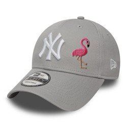 New Era 9FORTY Essential New York Yankees Strapback - Custom Flamingo - 10531940