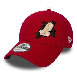New Era 9FORTY Flag Red Custom White Rose - 11179830
