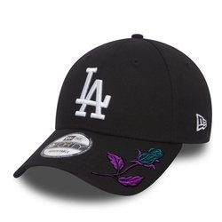 New Era 9FORTY MLB Los Angeles Dodgers Strapback Custom Mystic Rose - 11405493