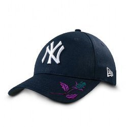 New Era 9FORTY MLB New York Yankees Strapback Custom Mystic Rose - 10047538